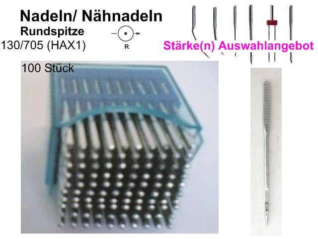100 NÄHNADELN Stärken zur eig AUSWAHL Nadeln  HAx1
